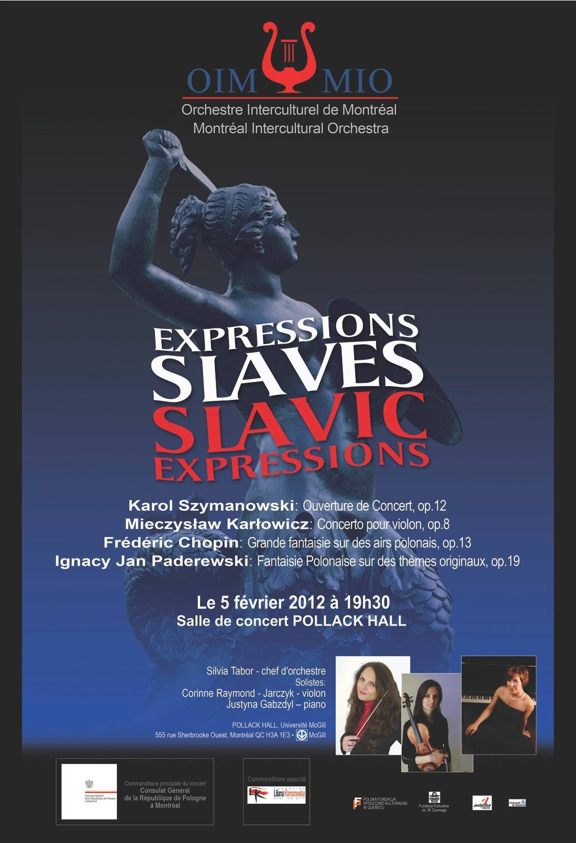 Silvia Tabor in Expressions Slaves (Slavic Expressions).